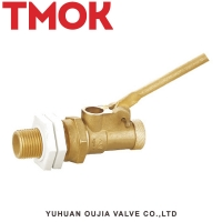 Buy cheap Hut Off 1 Inch Pneumatic Brass Float Ball Valve For Water Tank from wholesalers