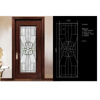 Buy cheap Traditional Door Decorative Panel Glass 3mm-19mm Clear Tinted & Reflective Glass from wholesalers
