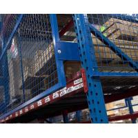 Buy cheap Wire Mesh Rack Guard System,Pallet Rack Safety Guards,Shelf Goods Fall Protection Mesh from wholesalers