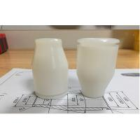 Buy cheap White POM Plastic Rapid Prototype CNC Machining / Turing Small Part from wholesalers