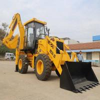 Buy cheap 4x4 2.5t Earthmoving Compact Backhoe Loader SAM WZ30-25 with 1.2m3 bucket from wholesalers