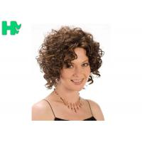 Heat Resistant Synthetic No Lace Short Synthetic Wigs Soft  And Smooth Hair Manufactures