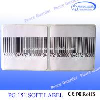 Buy cheap High Reliability EAS Soft Label / RF Label 4×4CM For Anti Theft from wholesalers
