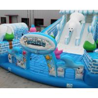 China Outdoor Snow world design giant inflatable bouncer jumping castle on sale