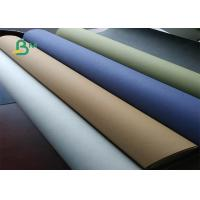 China Low-carbon / Environment-friendly Washable Kraft Paper Roll 0.55mm Thickness on sale