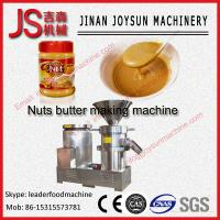 China 4kw Sesame Jam Peanut Butter Machine , Colloid Mill 50 - 80kg / h on sale