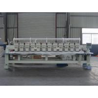 Buy cheap Programmable Embroidery Machine 12 Heads , Flat Knitting Machine With USB Port from wholesalers