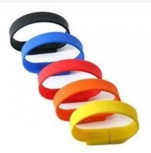 China USB Silicon Wristband / Hi-speed USB2.0 or USB3.0 USB Silicon Wristband on sale