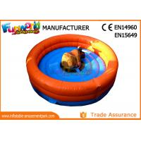 Wholesale 0.55mm PVC Tarpaulin Inflatable Rodeo Bull Waterproof And Fire Resistant from china suppliers