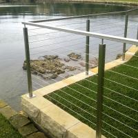 Buy cheap Modern Stainless Steel Cable Stair Railing / Wire Railings Stairs for Outdoor & Indoor from wholesalers