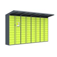 Buy cheap 100 - 240V Postage Lockers , Chinese / English Delivered Parcel Locker from wholesalers