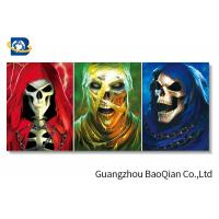 Buy cheap Stereograph Printing Lenticular Flip Creative Amazing Skull Decorative Waterproof Wallpaper from wholesalers