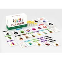Buy cheap Customize Your Own Paper Board Games Card Games Economy Games with Paper Tokens from wholesalers