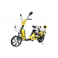 China 350W 6 T Adult Electric Bike with Pedals / Intelligent Electric Powered Bicycle on sale