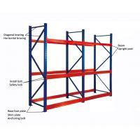 Buy cheap Steel Material Heavy Duty Garage Shelving With Adjustable Structure OEM Acceptable from wholesalers
