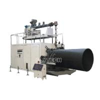 Wholesale PE HOLLOW WALL WINDING PIPE MACHINE(300-2200MM)/ PLASTIC PIPE EQUIPMENT / PLASTIC PIPE EXTRUDER from china suppliers