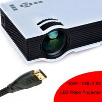 2016 New Arrival HD LED Projector Built In Speaker HDMI Support 1080p LED Video Projecteur Manufactures
