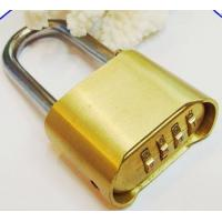 Wholesale 4 Digits Full Brass Combination Padlock 50mm High Quality Lock CR-04L from china suppliers