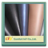 Buy cheap Glitter Leatherette Fabric 0.8MM PU Synthetic Leather Waterproof and Flame Retardant product