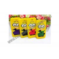 Wholesale Yellow TPU Cell Phone Protective Cases For iPhone / Samsung With Cartoon Design from china suppliers