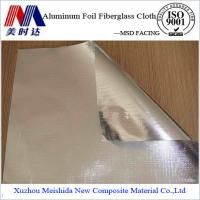 Buy cheap Heat Insulation Material Double Side Aluminum Foil Fiberglass Cloth from wholesalers