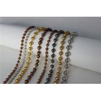Buy cheap Sparkling Stainless Steel Ball Chain Curtain Bead Curtain For Shower Room from wholesalers
