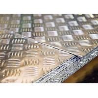Buy cheap 1050 H14 1.5X1250X2500 aluminum checker diamond treadplates raised plates from wholesalers