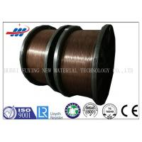 Buy cheap Clear Surface Copper Coated Steel Wire 0.78-1.65 Gauge For Tractor / Truks from wholesalers