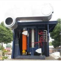 Buy cheap Medium Frequency Hydraulic Steel shell furnace KGPS-4500KW/6000kg from wholesalers