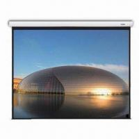 China Fantasy Large Stage Motorized Screen with In-line Switch and Infrared Remote Controller on sale