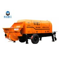 Wholesale Stationary Mounted Electric Concrete Pump Trailer Large Capacity 80 M3 / H from china suppliers