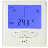 Buy cheap YKC303 LCD Room Thermostat (Air-conditioner thermostat, fan coil thermostat, residential thermostat from wholesalers