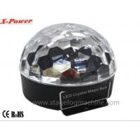 Buy cheap 3*3W RGB / RGBWA Sound Control Disco Lights For Party , Led Crystal Magic Light (VS-26+) from wholesalers
