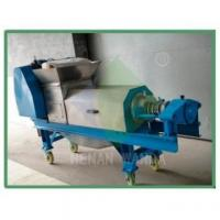 Buy cheap industrial cold press fruit juicer machine for lemon helical blade press fruit bamboo shoots from wholesalers