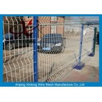 Wholesale Welded Wire Mesh Fence Panel Wire Mesh Fence Curved Wire Mesh Easily Assembled from china suppliers