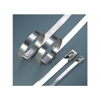 Buy cheap Stainless Steel Heavy Duty Cable Ties For Cable Wiring Acid / Alkali Resistant from wholesalers