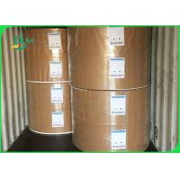 Buy cheap 30gsm To 100gsm Food Grade Paper Roll / Environmental Protection White Kraft Paper For Packing from wholesalers