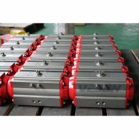 Buy cheap Quarter Turn Pneumatic Rack And Pinion Actuator Control Ball Or Butterfly Valves from wholesalers