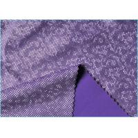 Buy cheap Purple Milk Silk Touch 4 Way Stretch Mystique Spandex  Fabric , Shatter Ice Crysta Looklike Fabric from wholesalers