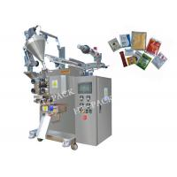 Seasoning Powder / Granule Small Pouch Packing Machine 20-80 Bags/Min Manufactures