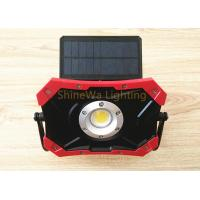 Buy cheap Outside Solar Powered Construction Lights 10W Rechargeable Led Work Light from wholesalers
