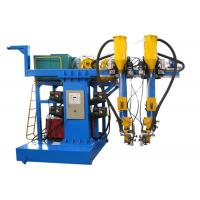 China Double Welding Torch SAW Welding Machine , Box Beam Steel Structure Production Line on sale