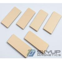 China Block Neodymium magnets with coating everlube &Epoxy & Sn &  Passvited used in electronics ,with ISO/TS certification on sale