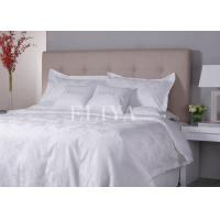 Buy cheap Green Healthy Sleep Jacquard Luxury Hotel Bed Linen Sheet Set with 100% Cotton from wholesalers
