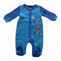 Buy cheap Baby Romper, Made of 100% Cotton Interlock, Available Various Style/Size, Customized Packing Welcome from wholesalers