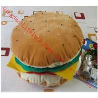 Buy cheap Large Funky Hamburger Soft Toy Pillow , PP Cotton Decorative Sofa Cushions from wholesalers