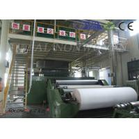 SSS Spunbond PP Non Woven Making Machine / Equipment for Mask / Operation Suit Manufactures