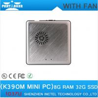 Buy cheap Factory Price mini pc windows K390M with cooling fan thin client HDMI+VGA port from wholesalers