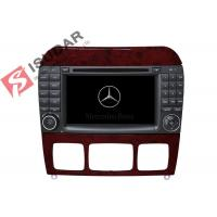 Buy cheap 1024 * 600 HD 7 Inch Mercedes S Class Dvd Player , Mercedes Benz Car Stereo OBD Support from wholesalers