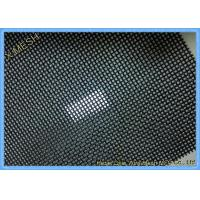 Buy cheap Vinyl Coated Pet Proof Flyscreen Mesh With Black Color North America Standards from wholesalers